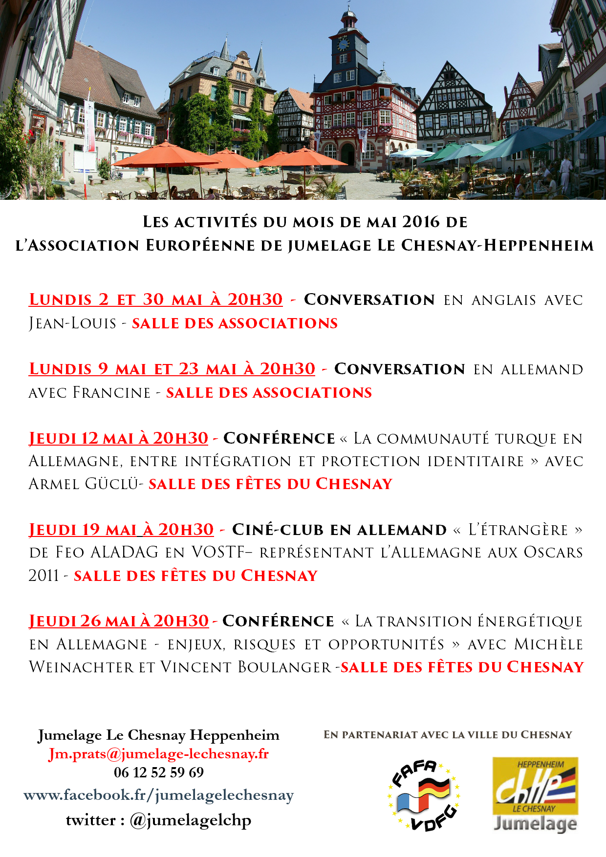 rencontres le chesnay